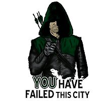You have failed this city ts hirt, iphone case & more Photographic Print
