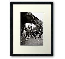 All The Kings Horses... Framed Print