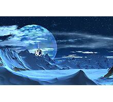 Ice Castle Photographic Print