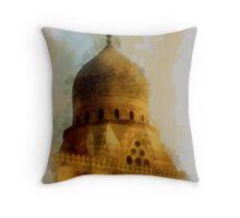Homage to the Faithful  Throw Pillow