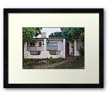 Kenton Cottage Framed Print