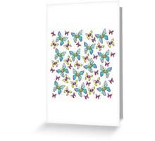 Butterfly Storm Greeting Card