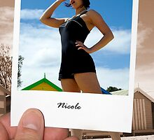Nicole @ The Beach by Garry Hannah