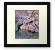 Rock Abstract No 4 Framed Print