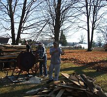 Cutting wood  by cdcantrell