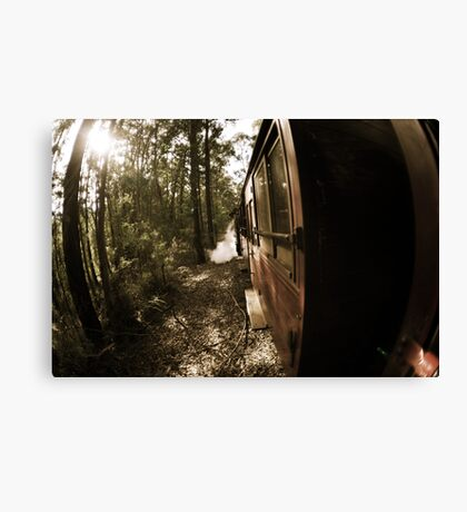 Blast From The Pass Canvas Print