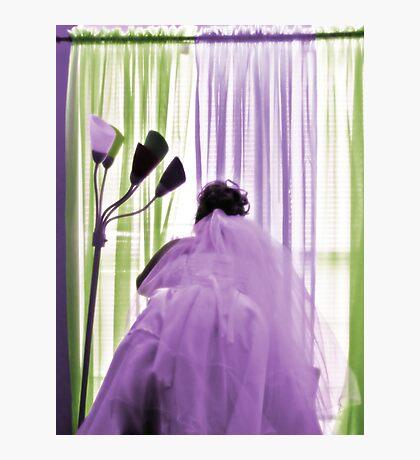 Waiting Bride Photographic Print