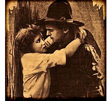 Are you still kissing Cowboys that cry Josephine? Photographic Print