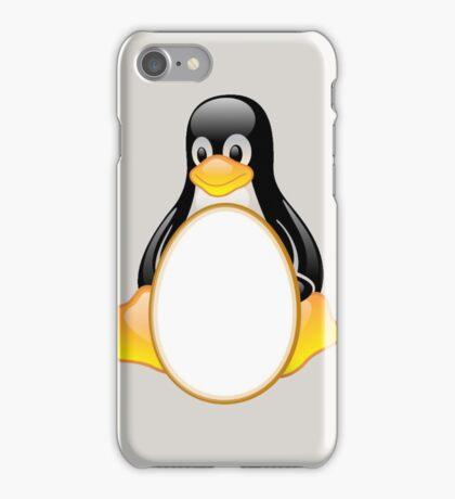LINUX TUX PENGUIN  3 COLOR EGGS iPhone Case/Skin