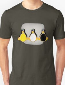 LINUX TUX PENGUIN  3 COLOR EGGS T-Shirt
