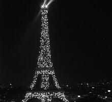 The Tower Lights Shine by Garrett Santos