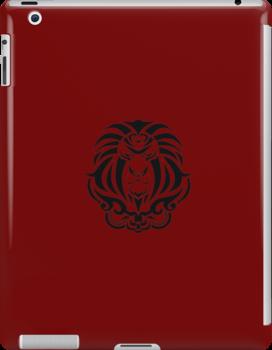 Zodiac Sign Leo Black by elangkarosingo