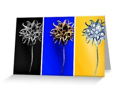 triptych Greeting Card