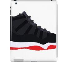 """Air Jordan XI (11) """"Bred"""" iPad Case/Skin"""