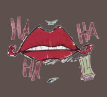 Joker Lips One Piece - Short Sleeve