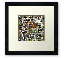 Checked and Double Checked Framed Print