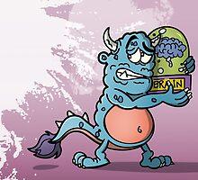 Monster Cartoon by Mills-Inc