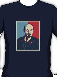 LENIN RED BLUE PORTRET  T-Shirt