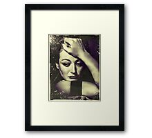 Love is a fire.  But whether it is going to warm your hearth or burn down your house, you can never tell. Framed Print