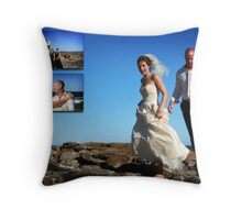 Sal & Scott Shelly Beach Throw Pillow