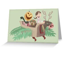 Return To Oz Fanart Greeting Card