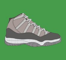 "Air Jordan XI (11) ""Cool Grey"" Baby Tee"