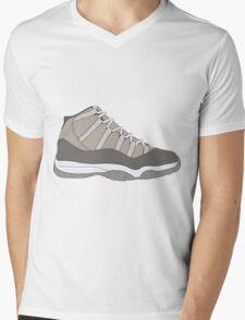 """Air Jordan XI (11) """"Cool Grey"""" Mens V-Neck T-Shirt"""