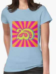 Psychedelic Ka Womens Fitted T-Shirt
