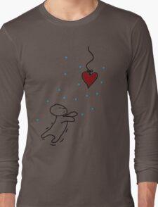 fishing for your heart Long Sleeve T-Shirt