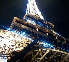 Eifel Tower 'you light up my life' by marieangel