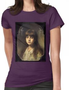 Young Model Womens Fitted T-Shirt