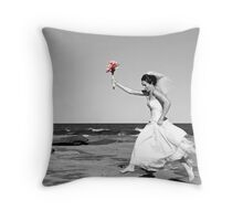 Sal at Shelly Beach Throw Pillow