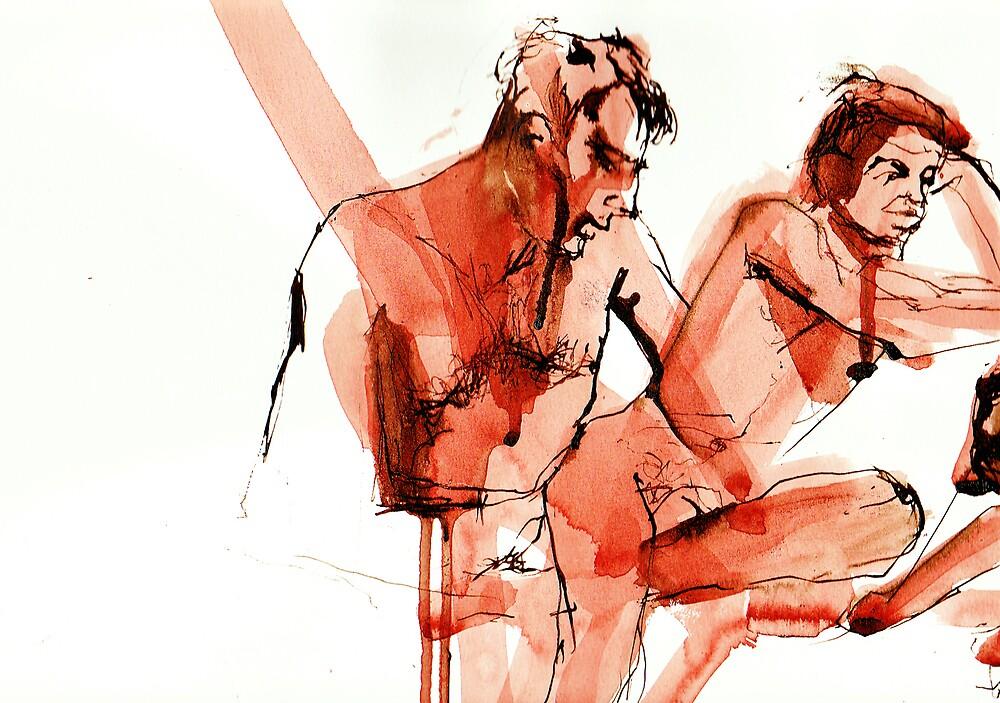 Sitting Here by ellejayerose
