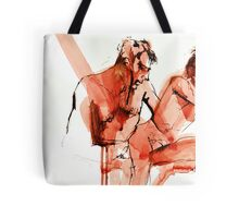 Sitting Here Tote Bag
