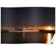 Night Trawler - Otago Harbour Poster