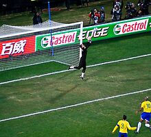 Julio Cesar - Brazillian Goalie by RatManDude