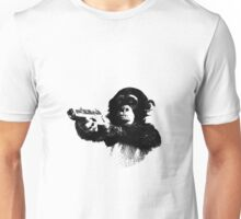 Monkey Gun Unisex T-Shirt
