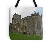 The Church East Witton. Tote Bag