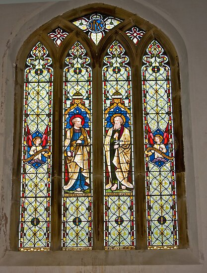 Window #1 East Witton Church by Trevor Kersley