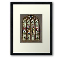 Window #1 East Witton Church Framed Print