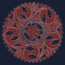 Serpent Circle Tee by fesseldreg