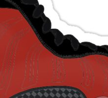 "Nike Air Foamposite One ""Metallic Red"" Sticker"