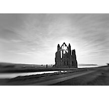 12th century Whitby Abbey Photographic Print