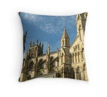 York Minster in the Autumn Throw Pillow