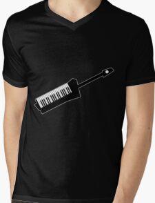 Keytar Mens V-Neck T-Shirt
