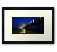 Hervey Bay Pier Framed Print