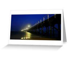 Hervey Bay Pier Greeting Card