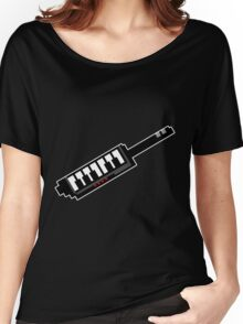 8Bit Keytar Pixels Women's Relaxed Fit T-Shirt
