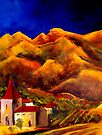 Eglise D'or - Valle D'or IX by Fee Dickson