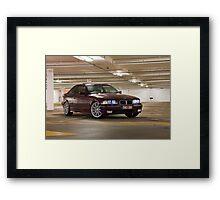 BMW E36 328i Framed Print